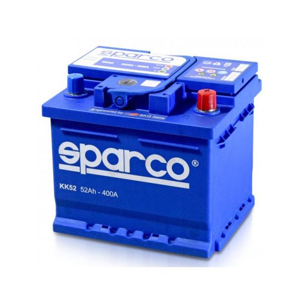 battery plus μπαταρια αυτοκινητου sparco 12v 52ah 400EN mpataria aytokinitou