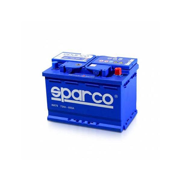 battery plus μπαταρια αυτοκινητου sparco 12v 75ah 650EN