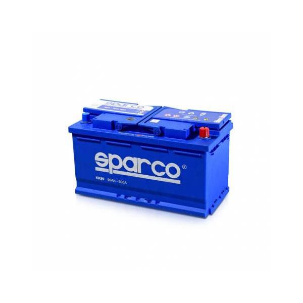 battery plus μπαταρια αυτοκινητου sparco 12v 99ah 800EN