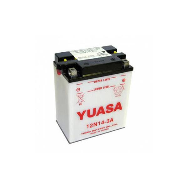 battery plus Μπαταρία μοτοσυκλέτας YUASA YB14L A2 14AH 190CCA mpataria motosykletwn