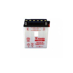 battery plus Μπαταρία μοτοσυκλέτας Yuasa YB12A B 12V 12Ah 165CCA mpataria motosykletwn