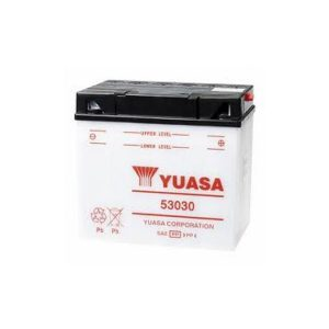battery plus Μπαταρία μοτοσυκλετών YUASA 53030 12V 30 20HR 18 0CCA EN εκκίνησης mpataria motosykletwn