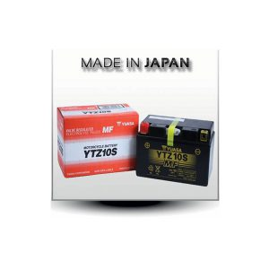 battery plus Μπαταρία μοτοσυκλετών YUASA JAPAN High Performance Maintenance Free Gel YTZ10S 12V 8.6 10HR Ah 190 CCA EN εκκίνησης mpataria motosykletwn