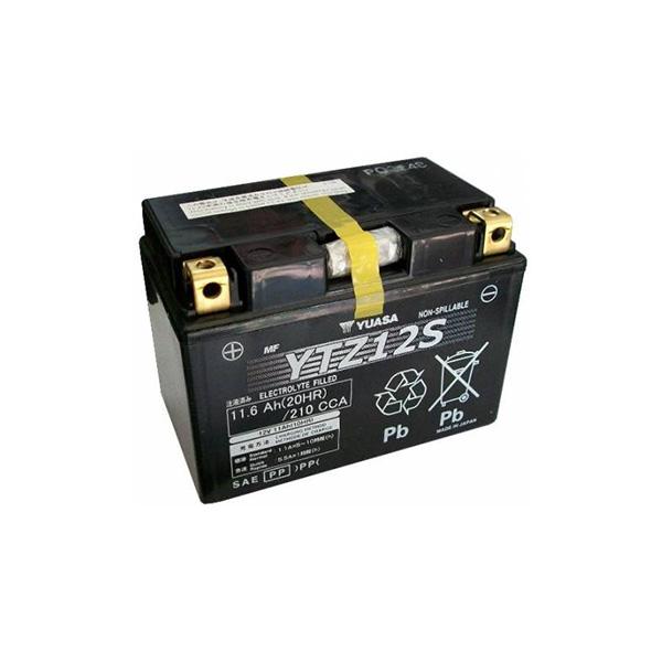 battery plus Μπαταρία μοτοσυκλετών YUASA JAPAN High Performance Maintenance Free Gel YTZ12S 12V 11 10HR Ah 210 CCA EN εκκίνησης mpataria motosykletwn