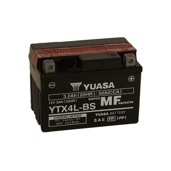 battery plus Μπαταρία μοτοσυκλετών YUASA TAIWAN MF YTX4L BS12V 3 10HRAh 50 CCA EN εκκίνησης mpataria motosikletwn