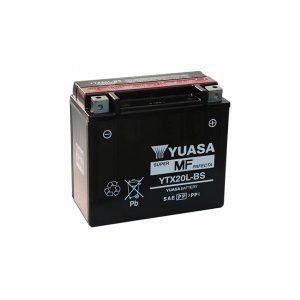 battery plus Μπαταρία μοτοσυκλετών YUASA TAIWAN Maintenance Free YTX20L BS 12V 18 10HR Ah 270 CCA EN εκκίνησης mpataria motosykletwn