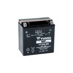 battery plus Μπαταρία μοτοσυκλετών YUASA TAIWAN YTX16 BS 12V 14 10HR Ah 230 CCA EN εκκίνησης mpataria motosykletwn