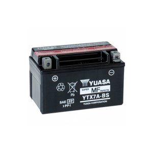 battery plus Μπαταρία μοτοσυκλετών YUASA TAIWAN YTX7A BS 12V 6 10HR Ah 105 CCA EN εκκίνησης mpataria motosikletwn