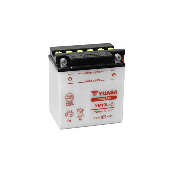 battery plus Μπαταρία μοτοσυκλετών YUASA YB10L B 12N10 3B 12V 11Ah mpataria motosykletwn