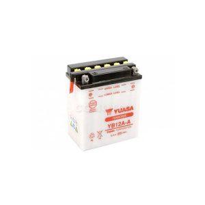 battery plus Μπαταρία μοτοσυκλετών YUASA YB12A A 12AH 165CCA mpataria motosykletwn