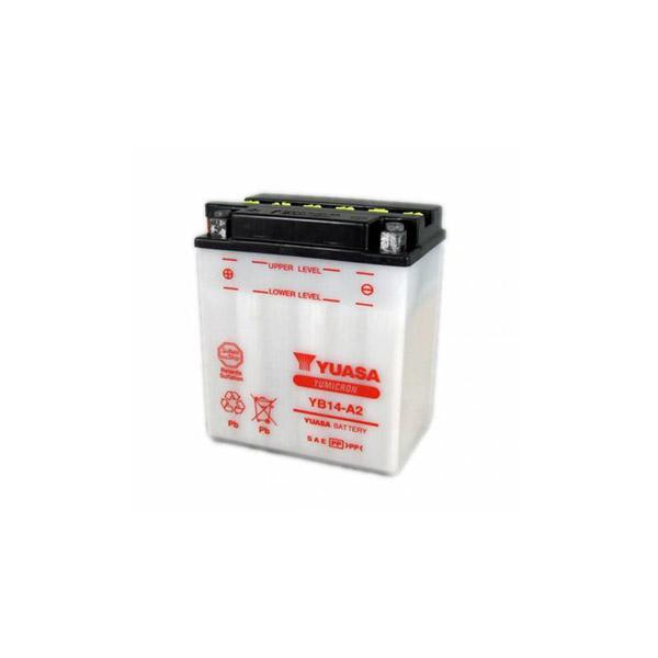 battery plus Μπαταρία μοτοσυκλετών YUASA YB14 A2 12V 14 10HR 190 CCA EN εκκίνησης mpataria motosykletwn