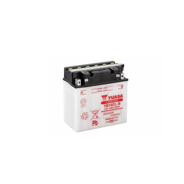 battery plus Μπαταρία μοτοσυκλετών Yuasa YB16CL B 12V 19Ah mpataria motosykletwn