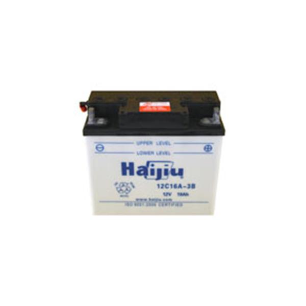 battery plus μπαταρία μοτοσυκλέτας haijiu 12C16A3B mpataria motosykletas