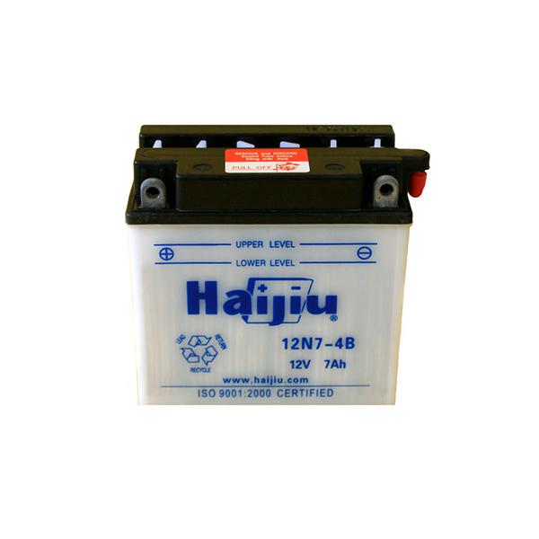 battery plus μπαταρία μοτοσυκλέτας haijiu 12N74B mpataria motosykletas