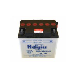 battery plus μπαταρία μοτοσυκλέτας haijiu H60N24ALB mpataria motosykletas