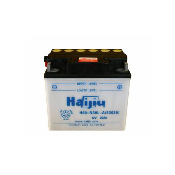 battery plus μπαταρία μοτοσυκλέτας haijiu H60N30LA53030 mpataria motosykletas
