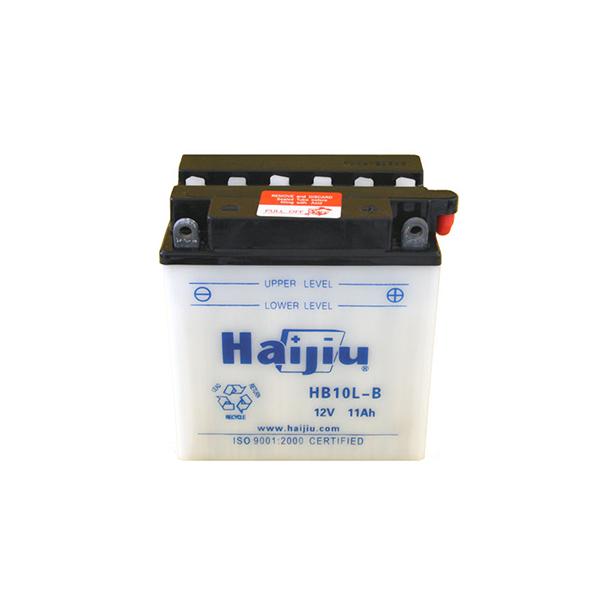 battery plus μπαταρία μοτοσυκλέτας haijiu HB10LB mpataria motosykletas