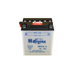 battery plus μπαταρία μοτοσυκλέτας haijiu HB12AA mpataria motosykletas
