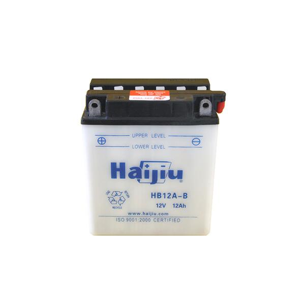 battery plus μπαταρία μοτοσυκλέτας haijiu HB12AB mpataria motosykletas