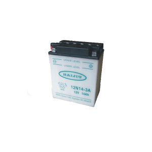 battery plus μπαταρία μοτοσυκλέτας haijiu HB14LA2 mpataria motosykletas