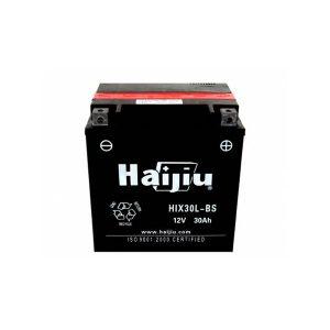 battery plus μπαταρία μοτοσυκλέτας haijiu HIX30LBSMY mpataria motosykletas
