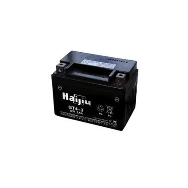 battery plus μπαταρία μοτοσυκλέτας haijiu HT14B4GEL mpataria motosykletas