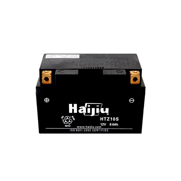 battery plus μπαταρία μοτοσυκλέτας haijiu HTZ10SGEL mpataria motosykletas