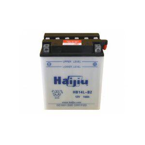 battery plus μπαταρία μοτοσυκλέτας haijiu hb14lb2yb14lb2 mpataria motosykletas