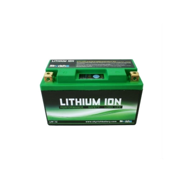 battery plus μπαταρία μοτοσυκλέτας skyrich LFP1412V68AH mpataria motosykletas