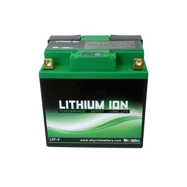 battery plus μπαταρία μοτοσυκλέτας skyrich LFP812V480A mpataria motosykletas