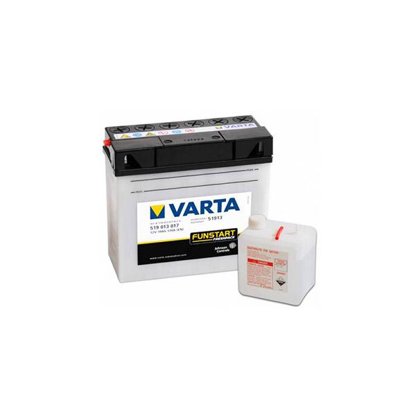 buttery plus Μπαταρία μοτοσυκλέτας VARTA Funstart Freshpack 51913 19AH mpataria motosykletwn