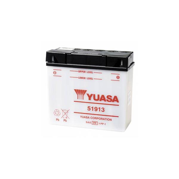 buttery plus Μπαταρία μοτοσυκλετών YUASA 51913 12V 19 AH 20HR 100 CCA EN εκκίνησης BMW mpataria motosykletwn